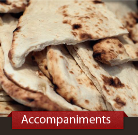 View our Accompaniments Menu - Daal, Bread, and more