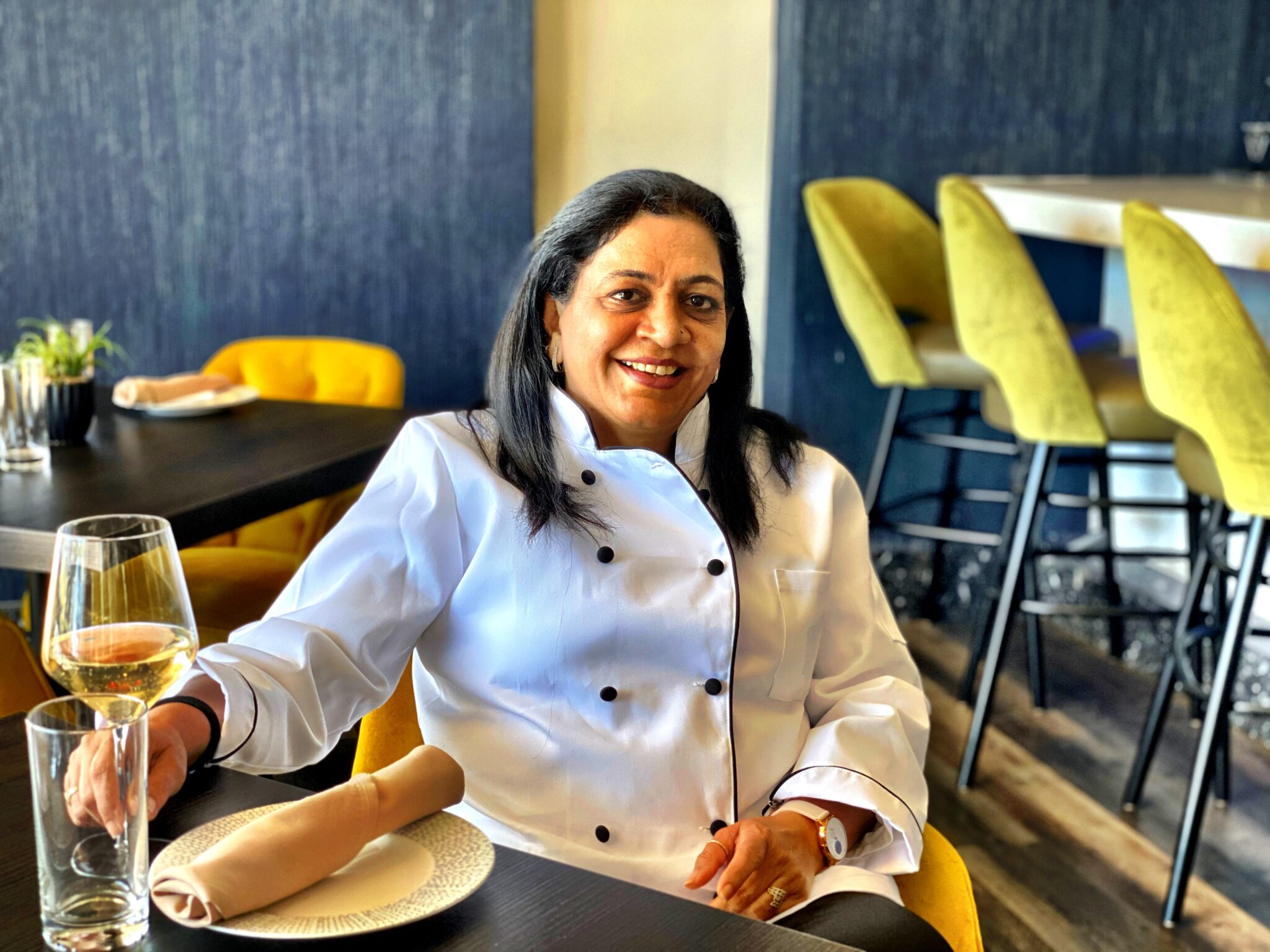 Chef Rupa at her restaurant Celebration by Rupa Vira - Indian Wedding Caterer